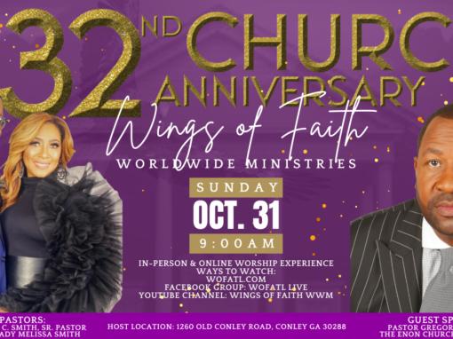32nd Church Anniversary!